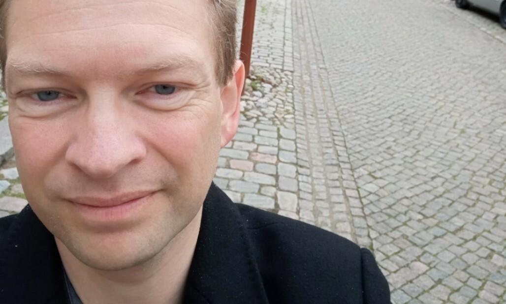 <strong>FLYTTER:</strong> Claus Iversen har fått nok av «uebehøvlede» danske turister, og vil nå flytte fra Christiansfeld. Foto: Privat