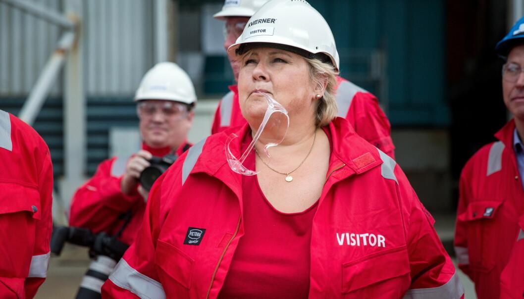 NORGE ETTER CORONA: I denne kronikken forteller statsminister Erna Solberg om hvordan Norge skal reise seg etter coronakrisen. Foto: Eivind Senneset