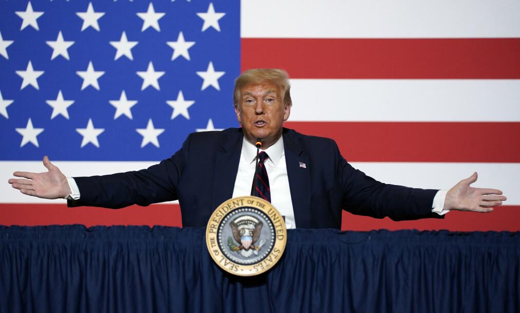 <strong>DONALDS ARV:</strong> Hvis Donald Trump trekker seg, innhyllet i konspirasjon og selvmedlidenhet, kan det skape en problematisk politisk arv. FOTO: AP/NTB Scanpix