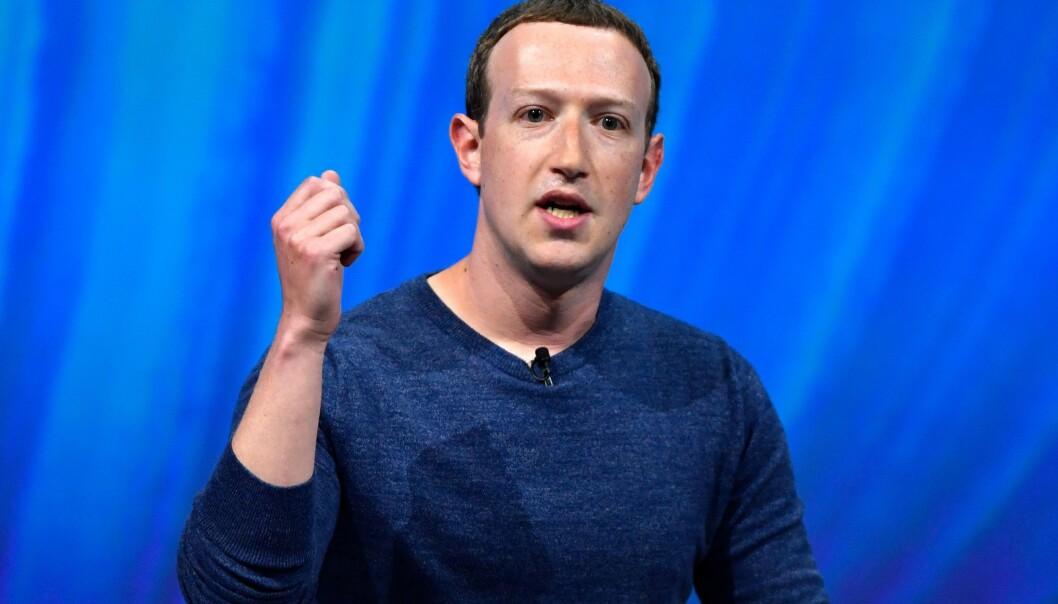 <strong>FACEBOOK:</strong> Facebook-sjef Mark Zuckerberg har grunn til å være fornøyd med resultatet for andre kvartal. Her avbildet i 2018. Foto: GERARD JULIEN / AFP