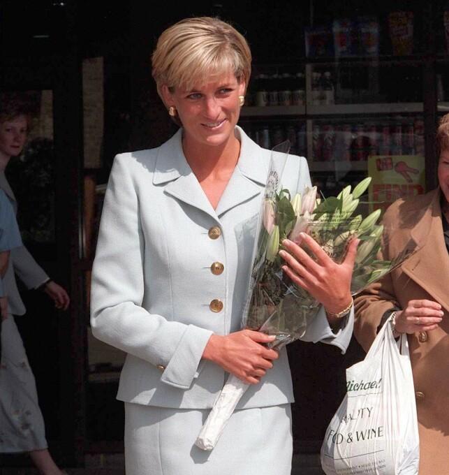 FOLKETS PRINSESSE: I år er det 23 år siden Diana døde i en tragisk bilulykke. Nå vekker et gammelt intervju oppsikt. Her er Diana avbildet i juni i 1997 - bare to måneder før hun døde. Foto: NTB Scanpix