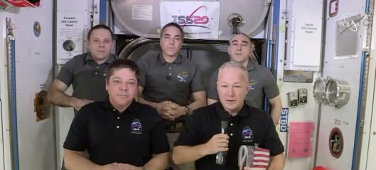 Astronauter forbeder seg på hjemkomst
