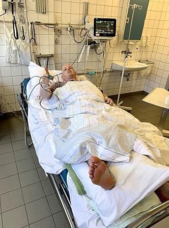 FORSLÅTT: Steinar Bjerkmann i sykesenga.