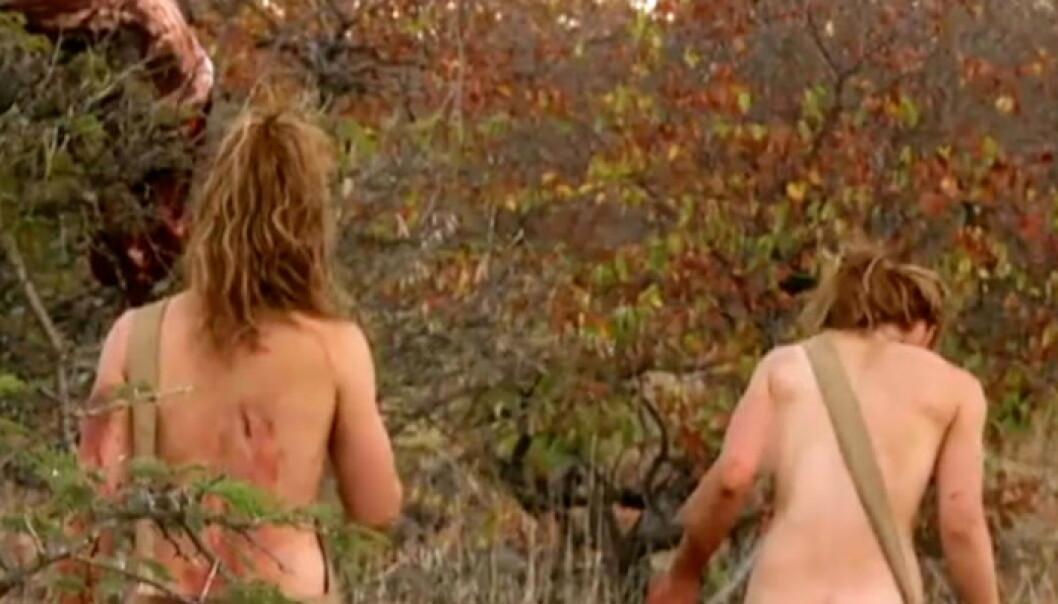 Hyller naken-serie