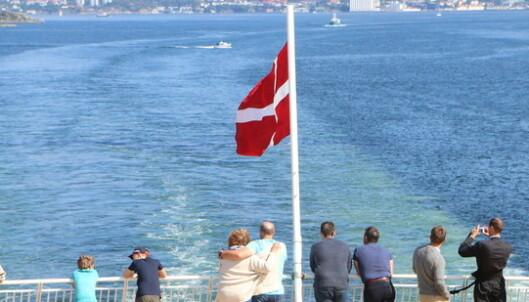 Munnbind-krav på danskebåt