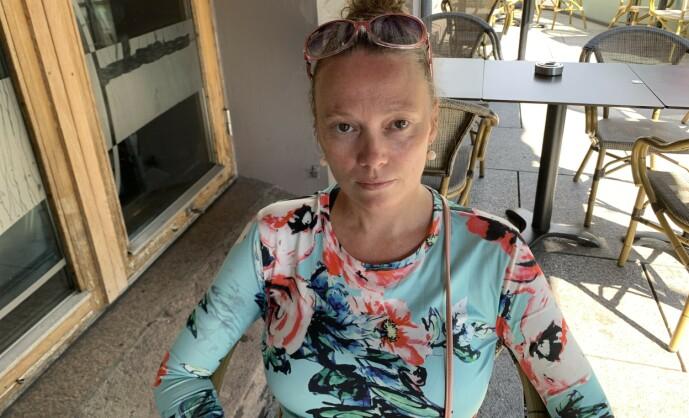 <strong>TAPTE:</strong> Marianne tapte i retten da hun saksøkte Nordea, om hun skal anke, er ikke avgjort. FOTO: Merete Sillesen