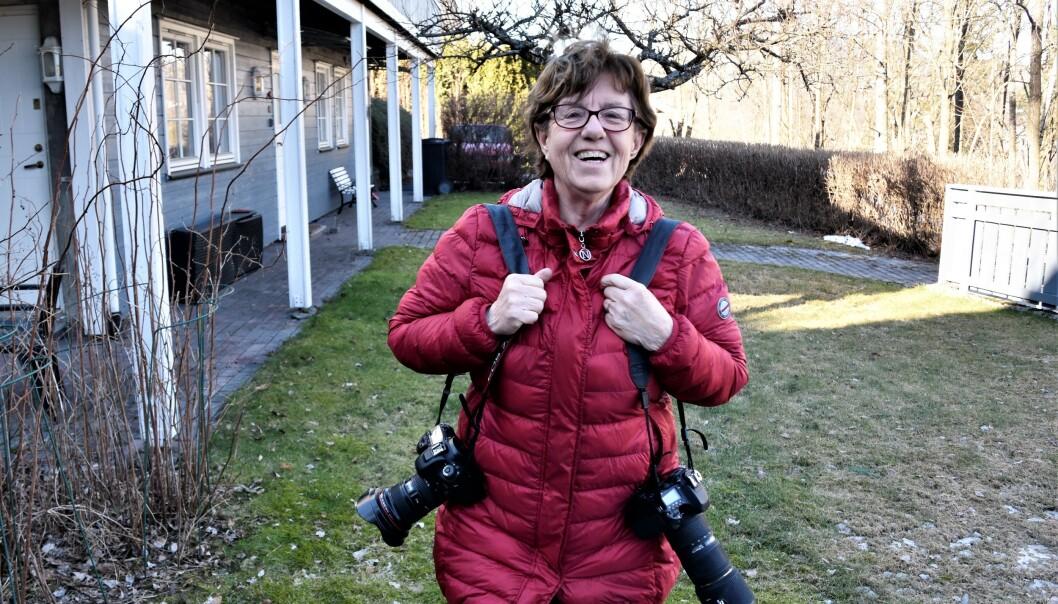 Mette Bugge har dekket tolv OL. Da hun fikk påvist kreft med spredning, ga jobben en ekstra motivasjon til å bli frisk. Hun skulle jo dekke OL i Rio året etter. Foto: Tore Shetelig