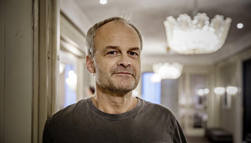<strong>AKUTELL:</strong> Johan Rheborg spiller økologisk grønnsaksbonde i ny krimserie. Foto: Dagbladet.