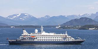 Cruiseskip har ankommet Bodø