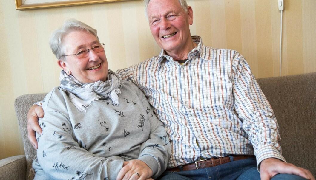 Støtte. Ragnhild og Bjørn har vært gift i over 20 år. Roar hadde et veldig godt forhold til stefaren sin, Bjørn. Foto: Siv-Elin Nærø