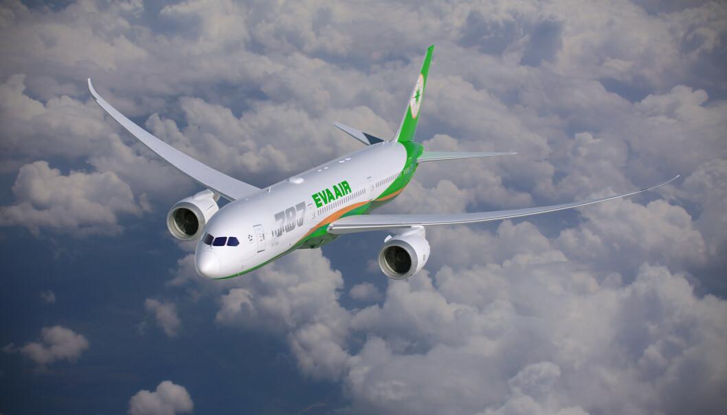 <strong>ANERKJENT:</strong> EVA Air er et anerkjent flyselskap og har seinest i år kommet inn på topp 10 av beste internasjonale flyselskap i en kåring hos TripAdvisor samt i reisemagasinet Travel + Leisure. Foto: EVA Air