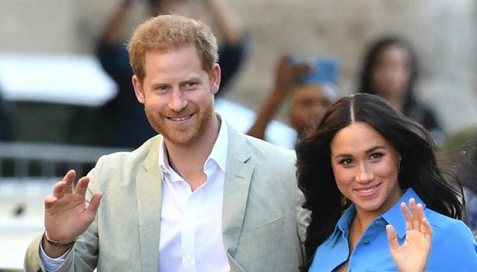 <strong>NYTT REDE:</strong> Prins Harry og hertuginne Meghan skal ha kjøpt seg ny bolig i Santa Barbara. Foto: NTB Scanpix