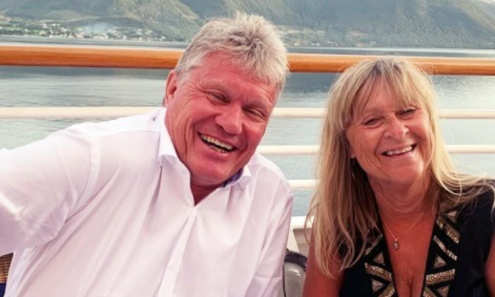 <strong>I KARANTENE:</strong> Morten Bjørlo var om bord på seilasen som ankom Tromsø søndag. Nå har han testet seg for corona. Foto: Privat