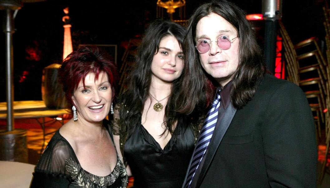 <strong>NUMMER TRE:</strong> Det er godt kjent at Sharon og Ozzy Osbourne har de to barna Jack og Kelly, men du har muligens ikke hørt om den tredje - Aimée Rachel. Hun har holdt seg borte fra rampelyset helt bevisst. Nå forteller hun hvorfor. Her fotografert i 2004. Foto: NTB Scanpix