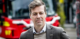 <strong>GLADNYHET:</strong> Samferdselsminister Knut Arild Hareide forteller at man fra slutten av oktober kan få «amerikanske kjennemerker» på amerikanske biler i Norge. Foto: Lars Eivind Bones / Dagbladet