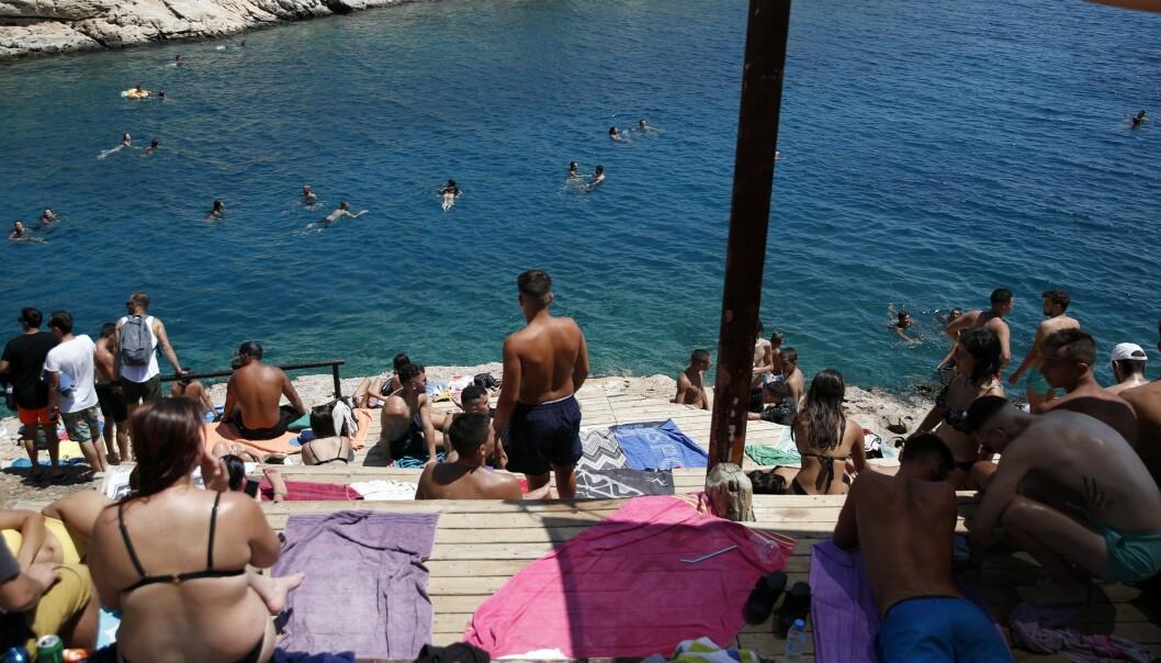 Coronautbrudd på gresk ferieøy
