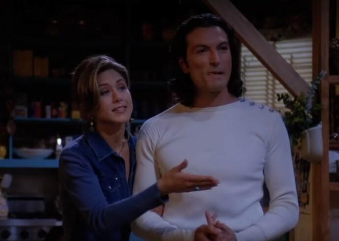 <strong>HET FLØRT:</strong> Mange husker nok Paolo som Rachel Green datet i første sesong. Se bilde av hvordan han ser ut i dag lenger ned i saken. Foto: Warner Bros.