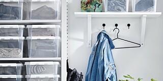 Image: Slik får du orden i klesskapet