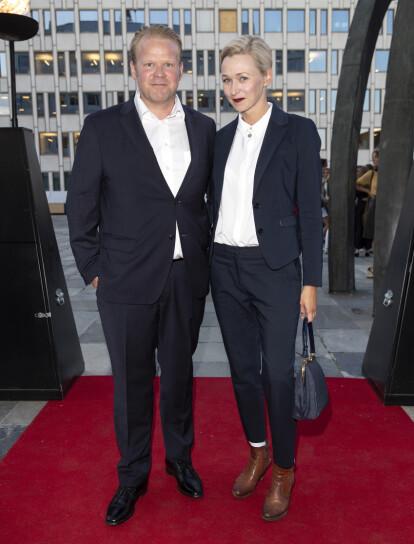<strong>MØTTES PÅ JOBB:</strong> Anders og Marie møttes på filmsettet. I 2018 fikk de sitt første barn sammen. Foto: Andreas Fadum / Se og Hør