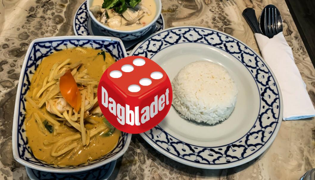 <strong>THAI-TILBUD:</strong> Det kryr av thairestauranter i Oslo by. Den paletten som thaimat spiller på er veldig interessant, men det krever dyktige folk på kjøkkenet om det skal bli skikkelig godt. Og det var en overraskende vinner i Dagbladets test av thairestauranter denne gangen. Foto: Elisabeth Dalseg