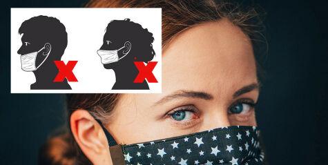 image: Slik bruker du munnbind og ansiktsmaske