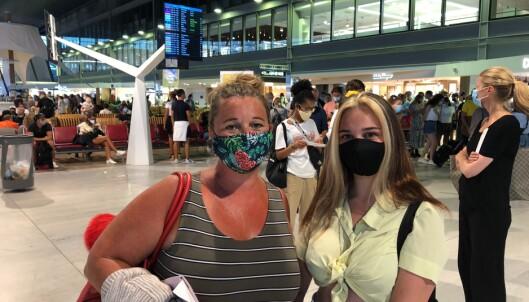 Flyet landet midnatt - må i karantene