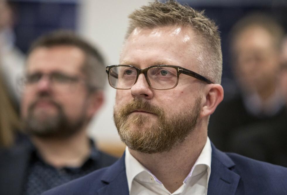 Hans-Erik Skjæggerud, 1. nestleder i YS, forstår at folk er bekymret for å miste jobben etter at arbeidsledigheten har skutt i været under koronapandemien. Foto: Ole Berg-Rusten /NTB Scanpix
