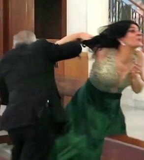 Image: Urovekkende bilder fra bryllup