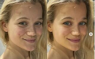 Image: - Skremmende at man kan endre slik på utseende