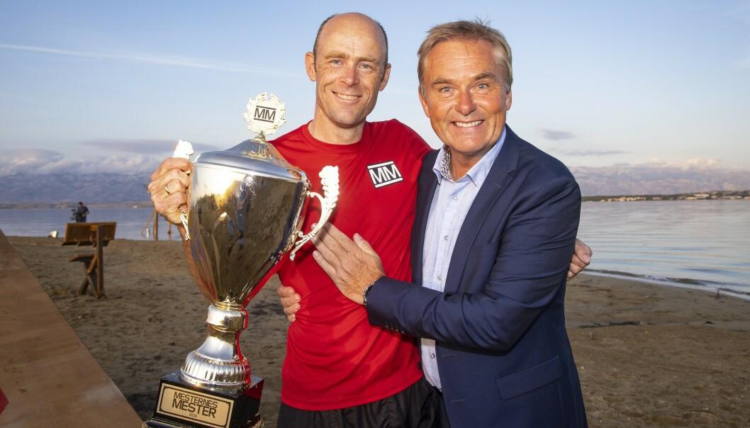 <strong>FJORÅRETS VINNER:</strong> Eirik Verås Larsen vant den ellevte sesongen. Dag Erik Pedersen returnerer som programleder - denne gangen i Arendal. Foto: Tor Lindseth/Se og Hør