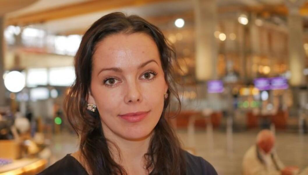 <strong>KRISEPSYKOLOG:</strong> Heidi Wittrup Djup forteller at Eia og Bouhlou bidrar til å hjelpe andre med sin historie. Foto: Per Halvorsen