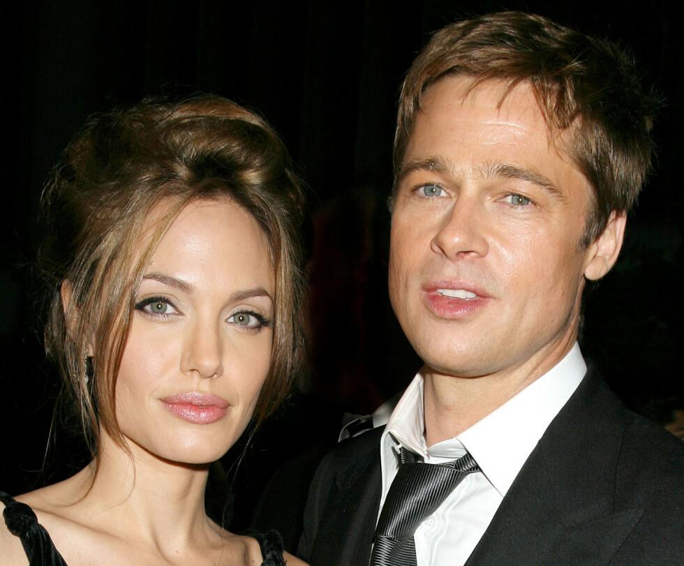 <strong>NY UTVIKLING:</strong> Den siste tiden har det blitt heftig spekulert på om forholdet mellom Brad Pitt og Angelina Jolie skal være bedre enn på lenge. Nye rettsdokumenter tyder på at det trolig ikke er helt tilfellet. Foto: NTB scanpix