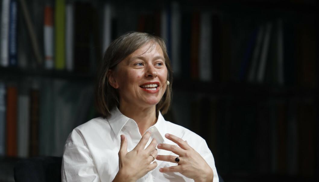 <strong>JANNE STIGEN DRANGSHOLT:</strong> Forfatter og litteraturforsker med fersk litterær kanon. Foto: NTB Scanpix