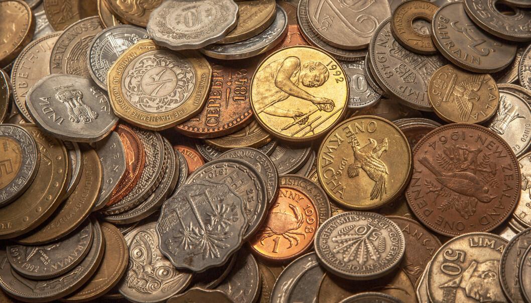 Betydelige deler av samlingen til Kungliga Myntkabinettet på Slottsbacken i Stockholm mangler. Varetellingen pågår fortsatt. Illustrasjonsfoto: Shutterstock/NTB Scanpix