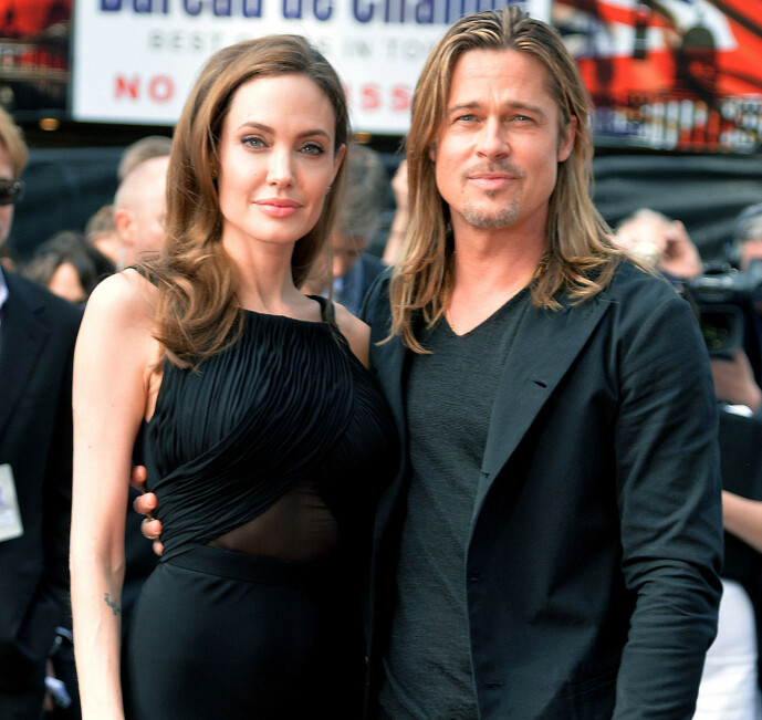<strong>HETT PAR:</strong> Angelina og Brad var på alles lepper da de var et par. Det var derfor trolig få som hadde sett for seg at de skulle gå hver til sitt. Foto: NTB scanpix