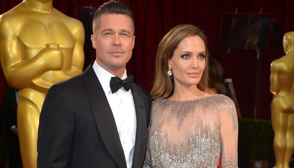 <strong>KREVER NY DOMMER:</strong> Det er gått fire år siden Angelina Jolie og Brad Pitt annonserte at de skulle skilles. Den dag i dag er fremdeles ikke saken over mellom dem. Foto: NTB scanpix