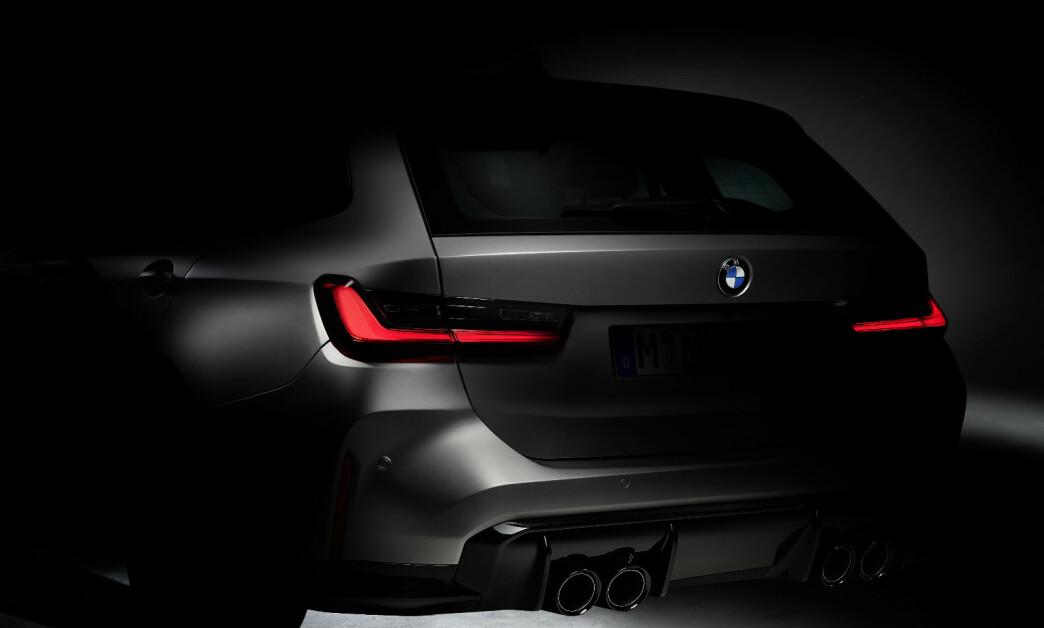 <strong>MER PRAKTISK:</strong> Om kort tid kommer nye M3 og M4. Og i 2022 kommer det også for første gang en Touring-utgave. Foto: BMW