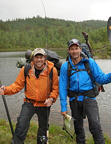 Image: Stjernelag blir med Monsen på tur