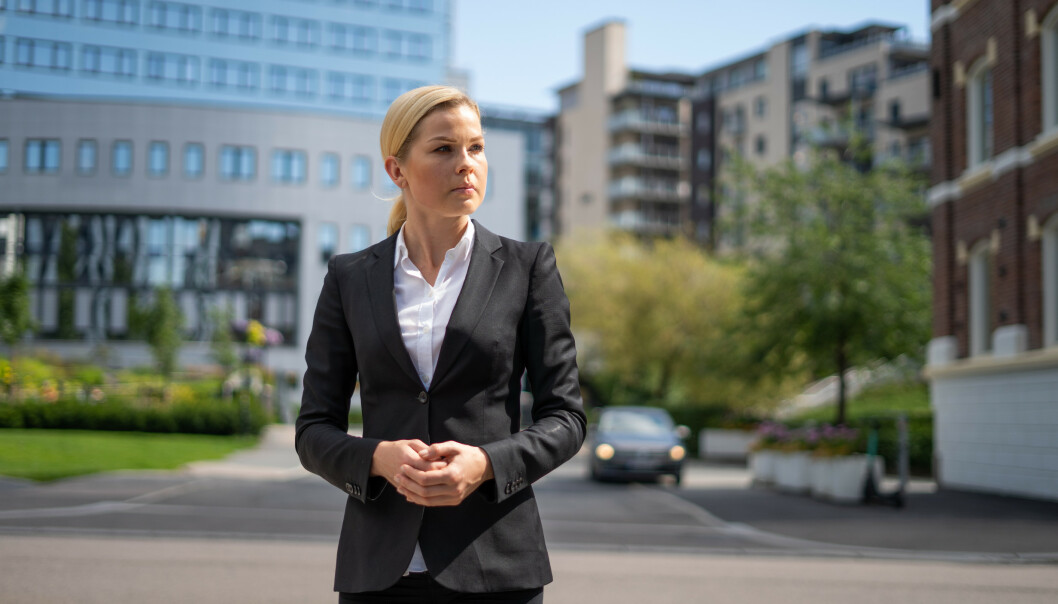 <strong>MERKER CORONAVIRUSET:</strong> Evelina Olsson i Finanstipset forteller at selskapet har refinansiert over 70 millioner kroner for folk med forbruksgjeld siden coronaviruset kom til Norge. Foto: Presse