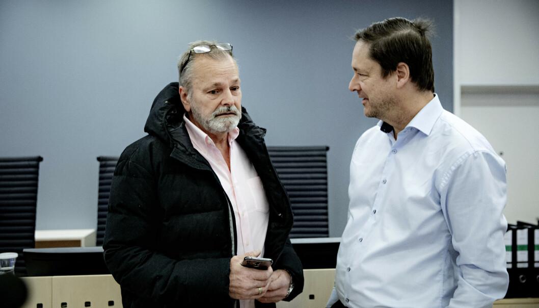HØYESTERETT: Eirik Jensens og hans advokat, John Christian Elden, setter nå sin lit til at Høyesterett opphever dommen. Foto: Nina Hansen / DAGBLADET