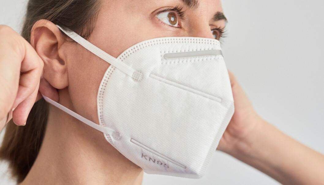 <strong>ÅNDEDRETTSVERN:</strong> Kategoriserer under «personlig verneutstyr» og beskytter også mot virus og partikler. Foto: Shutterstock/NTB scanpix
