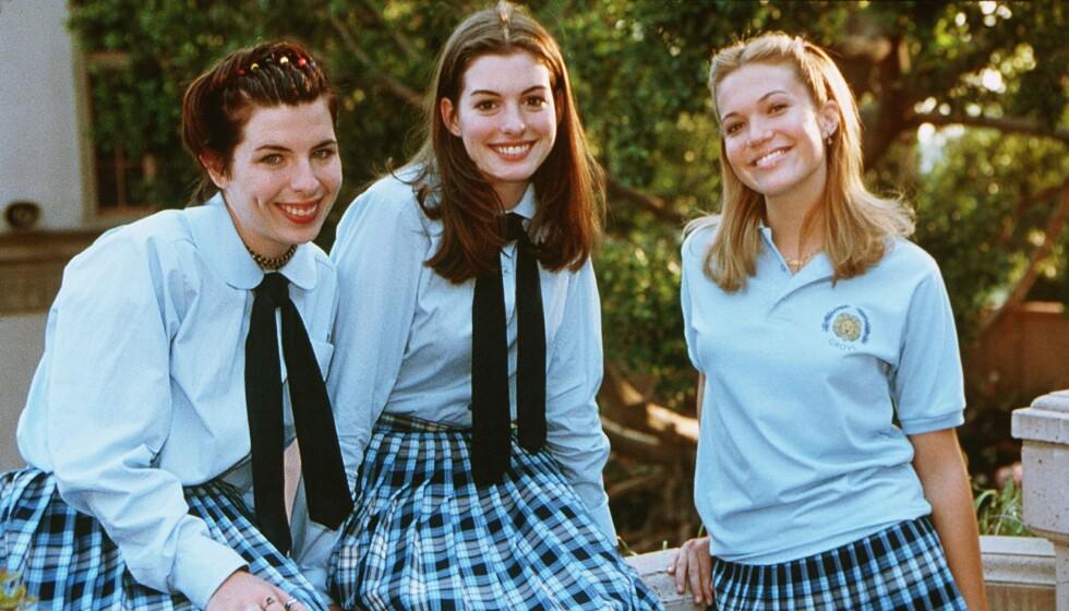<strong>DEN GANG DA:</strong> Heather Matarazzo, Anne Hathaway og Mandy Moore fikk alle svært mye oppmerksomhet etter å ha spilt i «Prinsesse på prøve». Førstnevnte har imidlertid ikke vært like framtredende i rampelyset som sine to skuespillerkolleger. Foto: NTB scanpix