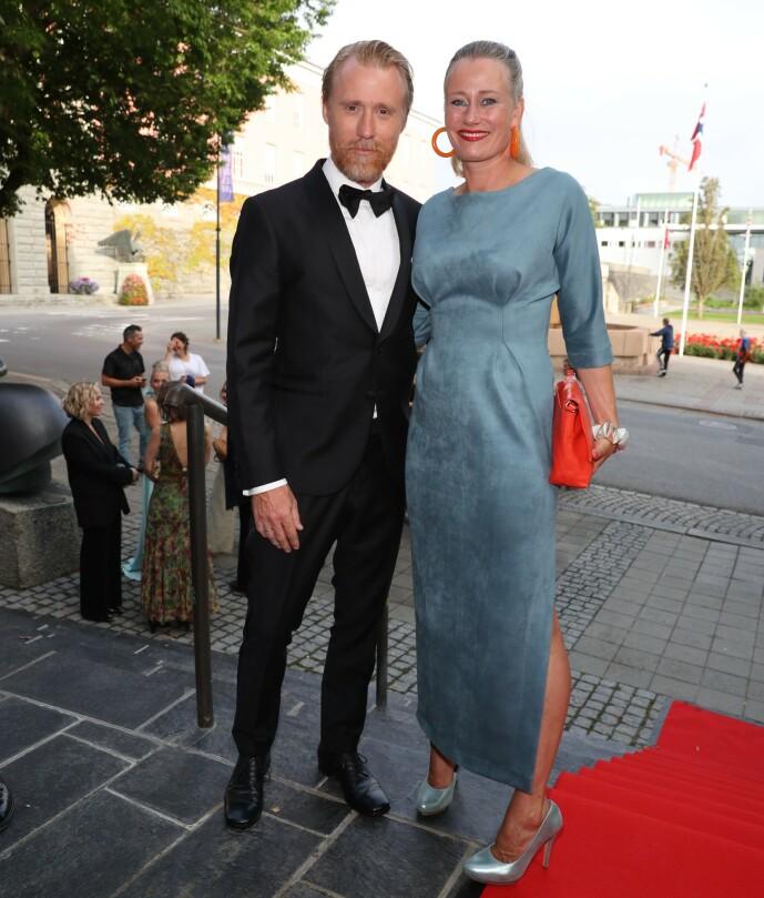 Thorbjørn Harr og kona Tai Victoria Grung. Foto: Andreas Fadum / Se og Hør