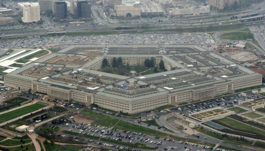 Det amerikanske forsvarsdepartementet Pentagon i Washington, her i et bilde fra 2008. Foto: Charles Dharapak /AP/NTB Scanpix