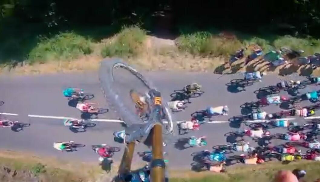 Sjekk disse sykkelstuntene!