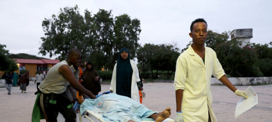 Minst 17 drept i angrep mot hotell i Mogadishu