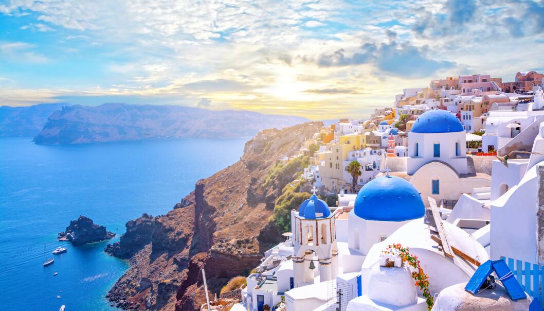 <strong>HELLAS I FARE:</strong> Hellas er foreløpig gule i FHIs smittekart, men står i fare for å bli røde. 17. august er tallet for Hellas nå på har nå 22,5 smittede per 100.000 innbyggere de to siste ukene. Foto: Shutterstock/NTB scanpix