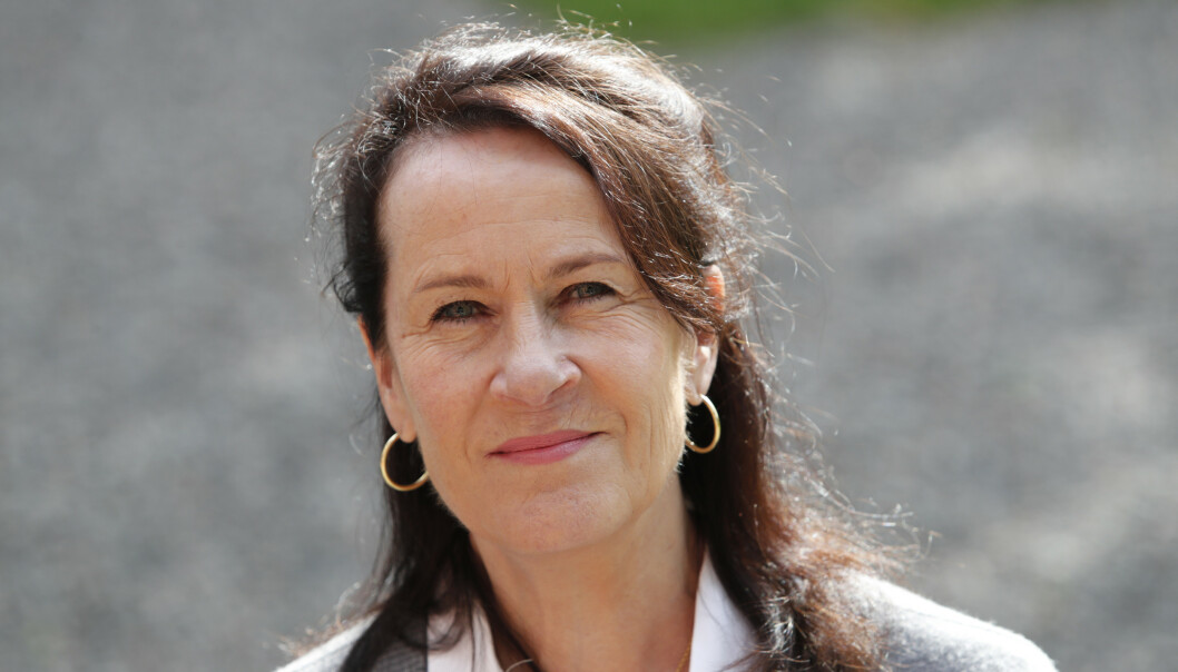 <strong>KLAR FOR PRIS:</strong> Vigdis Hjorth har bortimot 20 romaner på samvittigheten. Med «Er mor død» er hun sterkere enn noensinne. Nordisk råds litteraturpris burde være selvskreven i år. Foto: NTB Scanpix