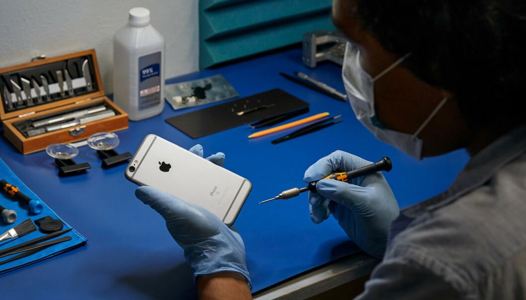 <strong>UTVIDER:</strong> Apples program for uavhengige reparatører utvides. Disse tilbyr praktiske alternativer for service på iPhone og Mac som ikke lenger dekkes av garantien. Foto: Apple