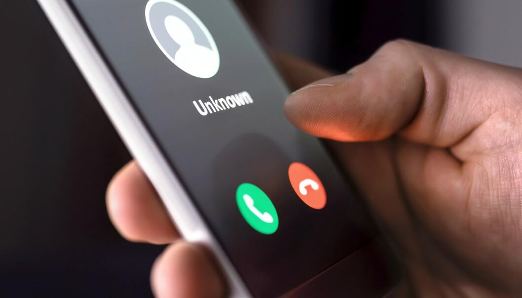 <strong>FREKKE:</strong> Telefonsvindlere er flinke til å utgi seg for å være andre enn de er. De er alltid på jakt etter å få tak i informasjon om deg. Foto: Shutterstock NTB Scanpix